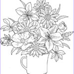 Coloring Sheets For Adults Flowers Best Of Photos Get This Realistic Flowers Coloring Pages For Adults Raf61