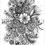 Coloring Sheets For Adults Flowers Cool Photos Printable Adult Colouring Page Digital Download Print Flower