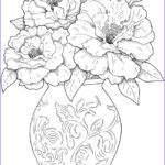 Coloring Sheets For Adults Flowers Luxury Photos Dover Publications Creative Haven Beautiful Flower