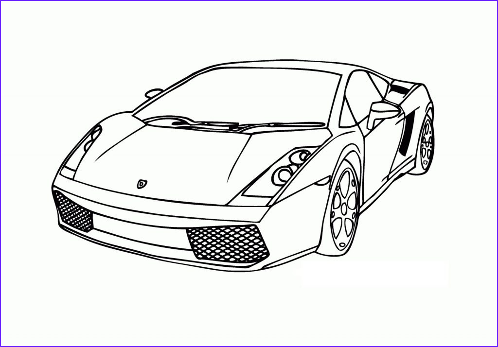 Coloring Sheets for Kids.com Awesome Photos Free Printable Lamborghini Coloring Pages for Kids