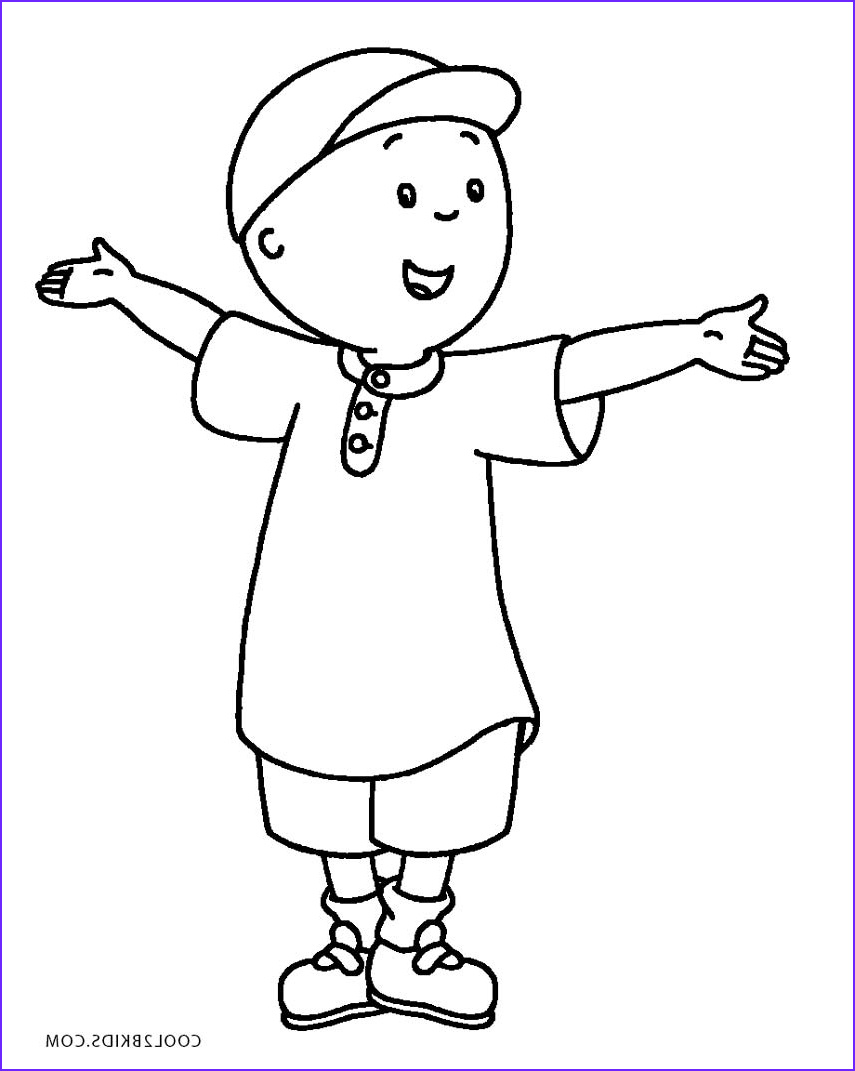 Coloring Sheets for Kids.com Beautiful Gallery Free Printable Caillou Coloring Pages for Kids