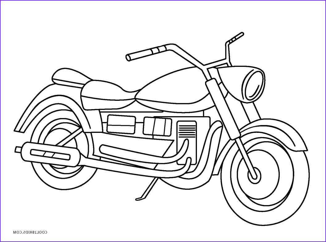 Coloring Sheets for Kids.com Beautiful Images Free Printable Motorcycle Coloring Pages for Kids