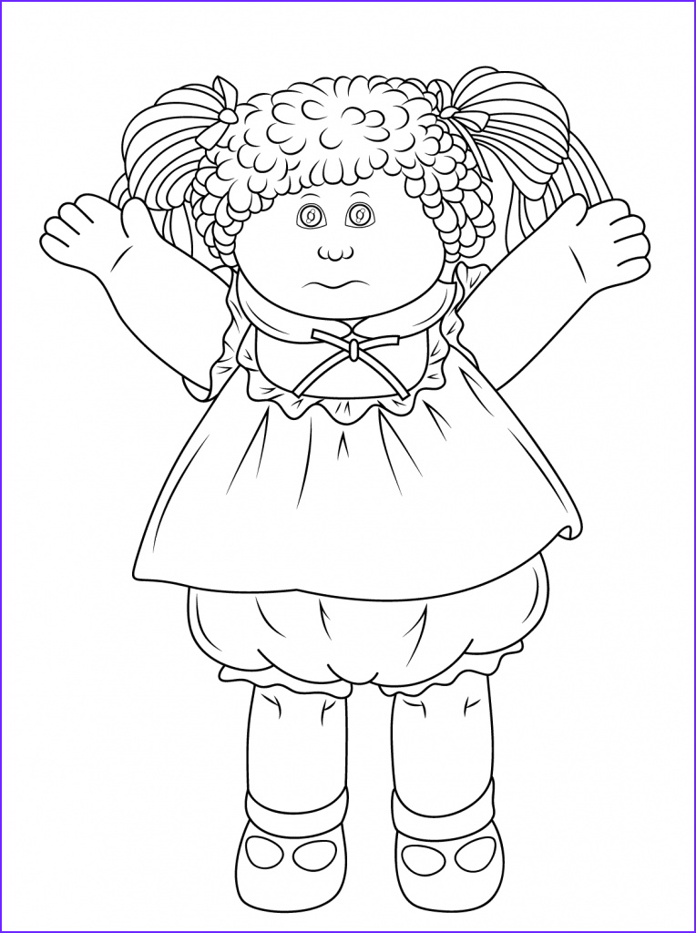 Coloring Sheets for Kids Com Best Of Gallery Doll Coloring Pages Best Coloring Pages for Kids