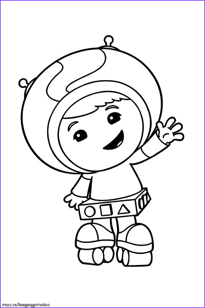 Coloring Sheets for Kids.com Unique Photos Free Printable Team Umizoomi Coloring Pages for Kids
