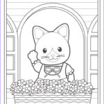Coloring Sheets For Kindergarteners Awesome Photos Calico Critters Coloring Pages To And Print For Free