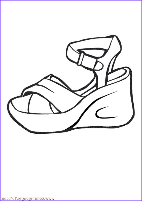 Coloring Shoes Beautiful Image 82 Best Images About Zb the Shoe Coloring Book On Pinterest