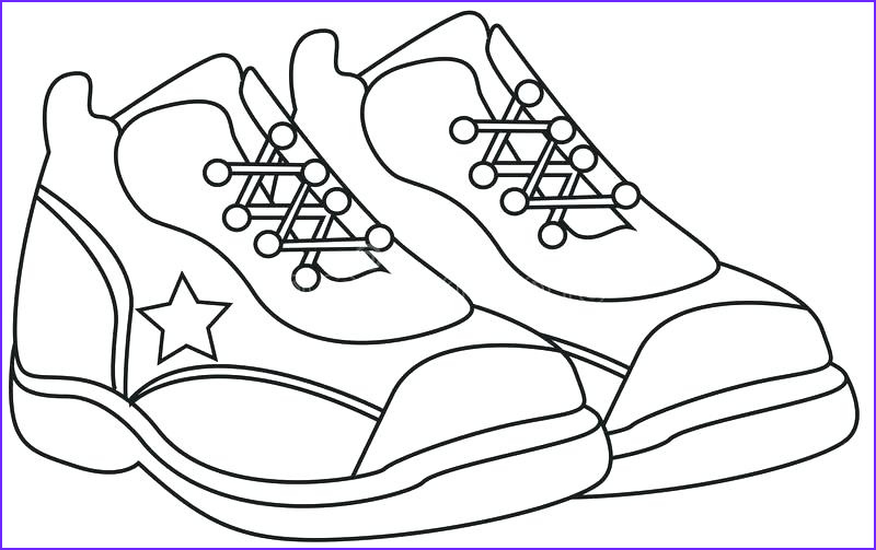Coloring Shoes Cool Photos Nike Coloring Pages at Getcolorings