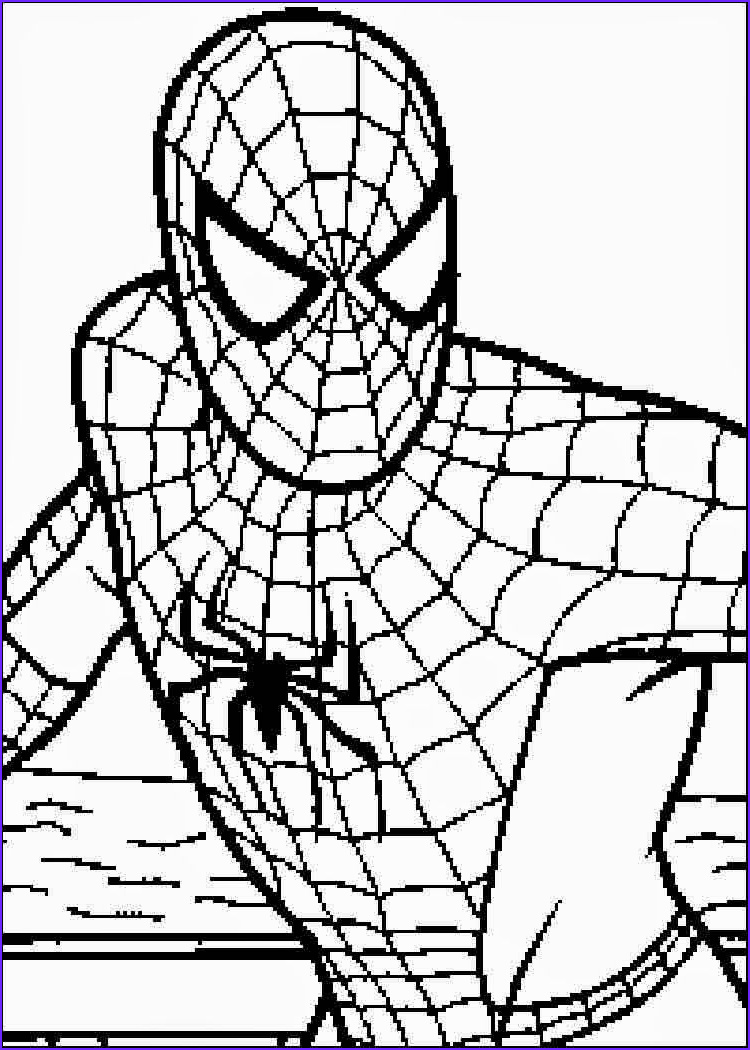 Coloring Spiderman Inspirational Gallery Print Free Coloring Pages Spiderman Coloring Home