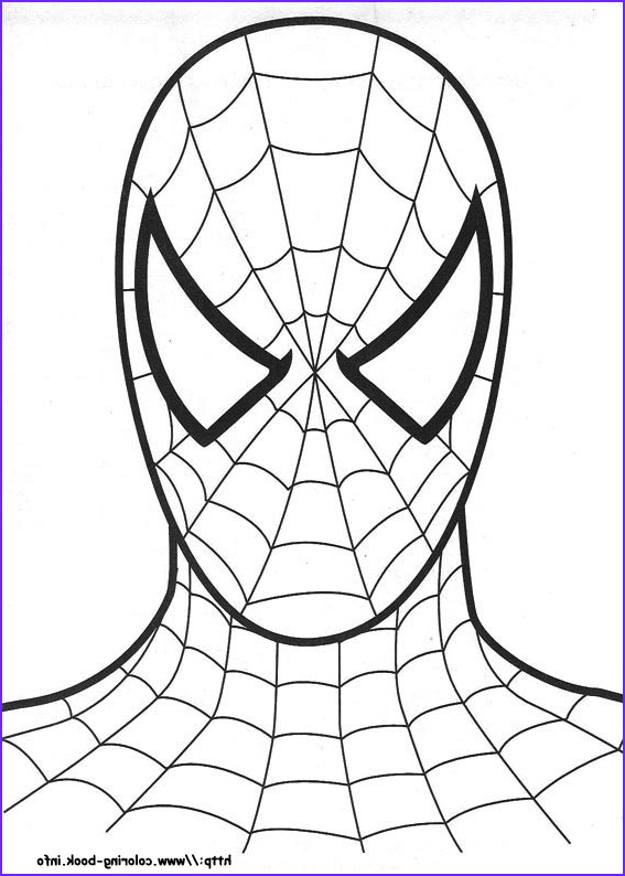 Coloring Spiderman New Photos 12 Coloring Pictures Spiderman Print Color Craft