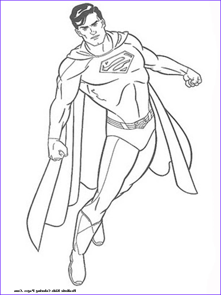 man of steel coloring pages