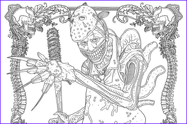 Coloring Story Book Luxury Photos Idw Releases Two Free Monster Mash Up Coloring Pages From