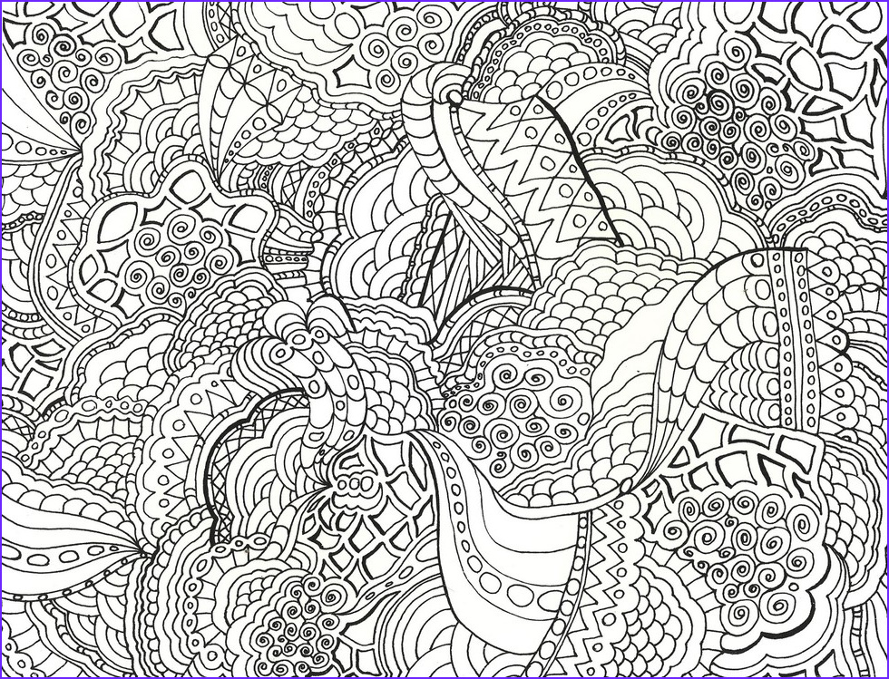 Coloring Stress Awesome Photos these Printable Mandala and Abstract Coloring Pages