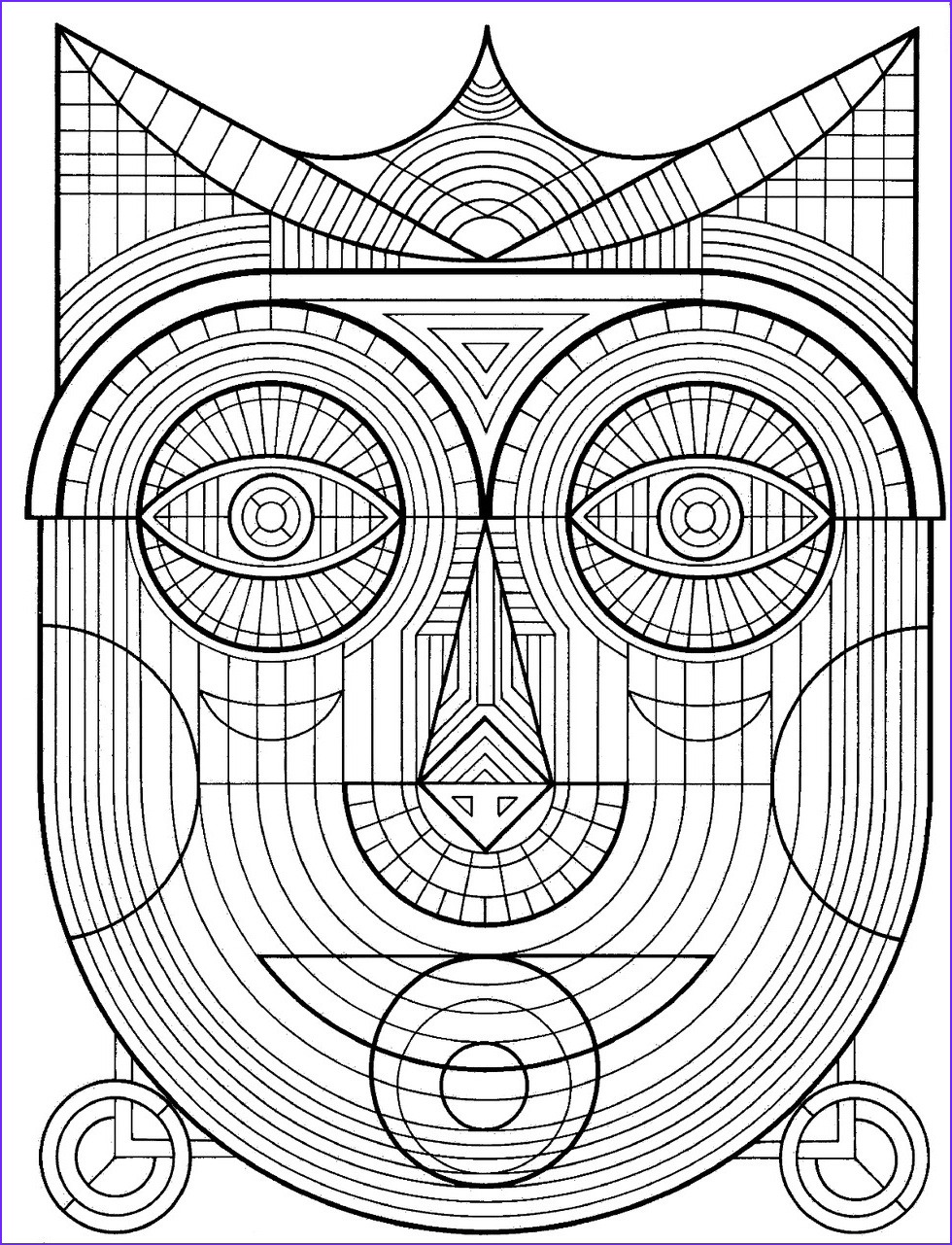 Coloring Stress Best Of Images these Printable Mandala and Abstract Coloring Pages