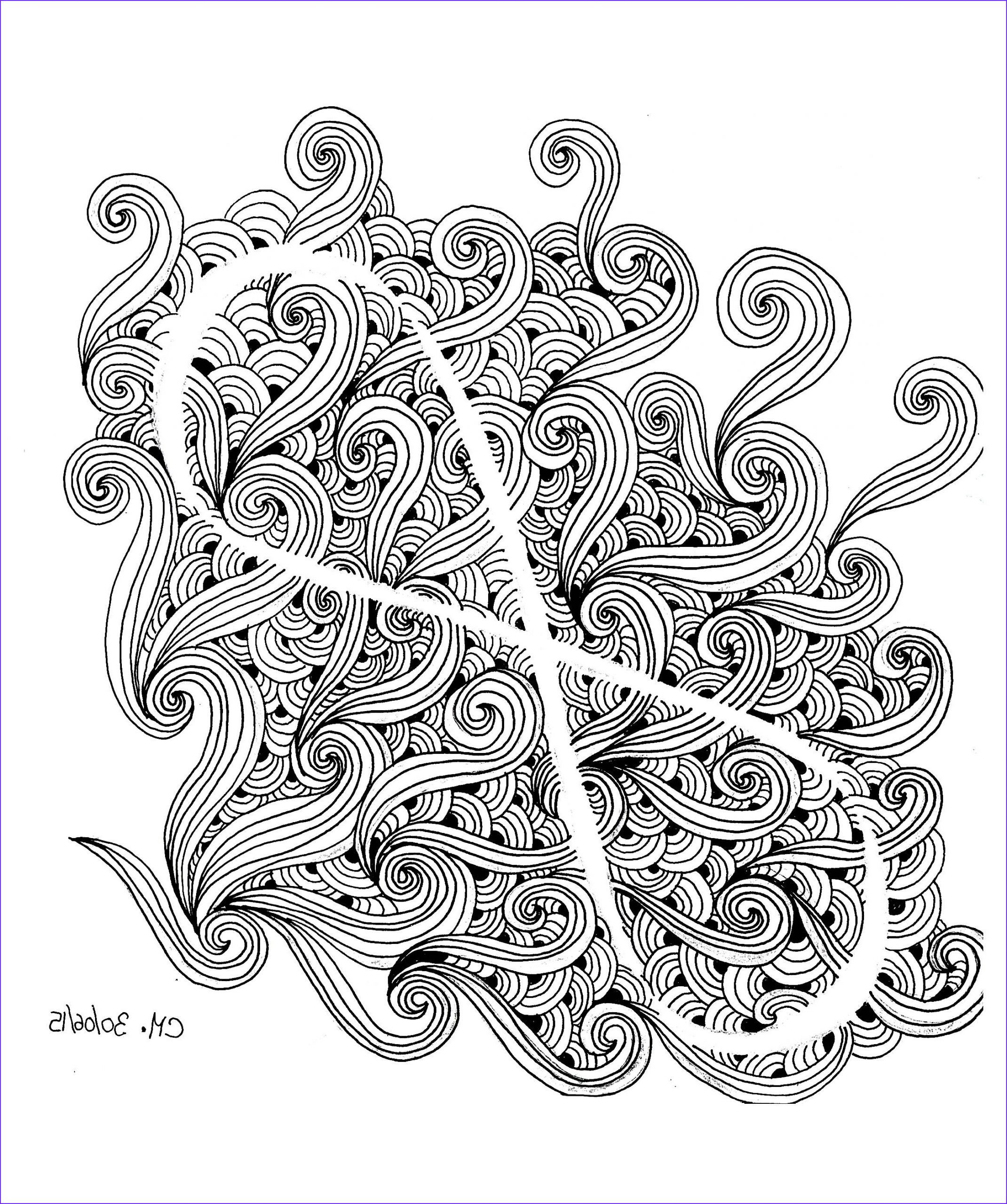 Coloring Stress Cool Gallery Cathym14 Anti Stress Adult Coloring Pages