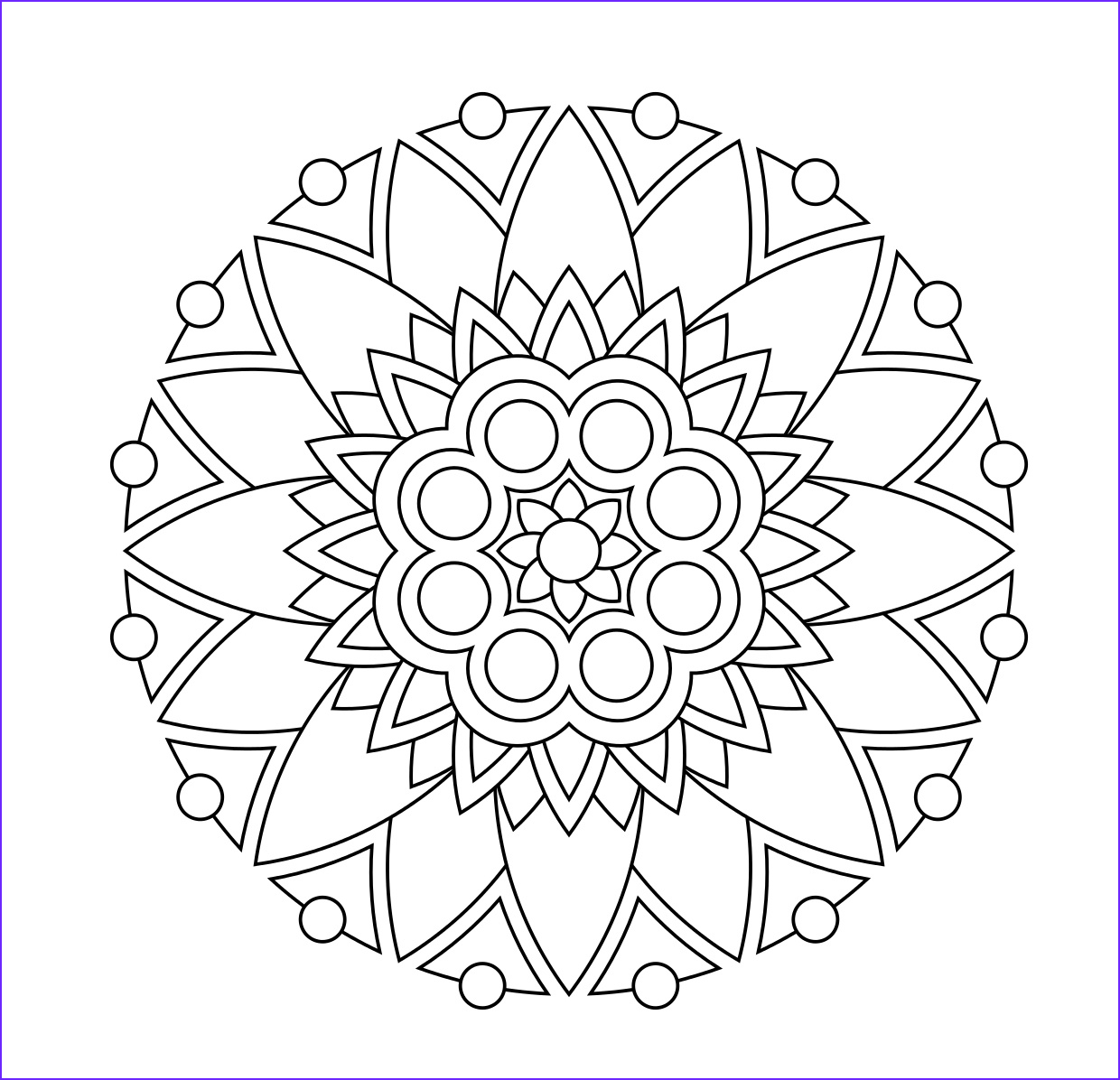 Coloring Stress Cool Photos 22 Printable Mandala & Abstract Colouring Pages for