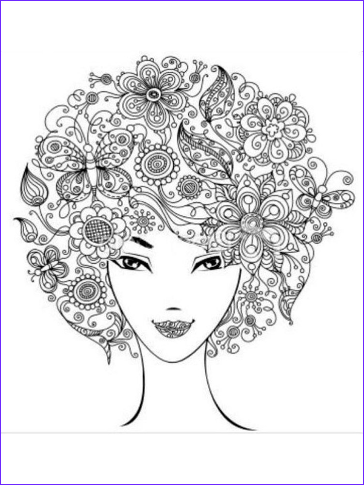 Coloring Stress Unique Gallery Anti Stress Coloring Pages for Adults Free Printable Anti