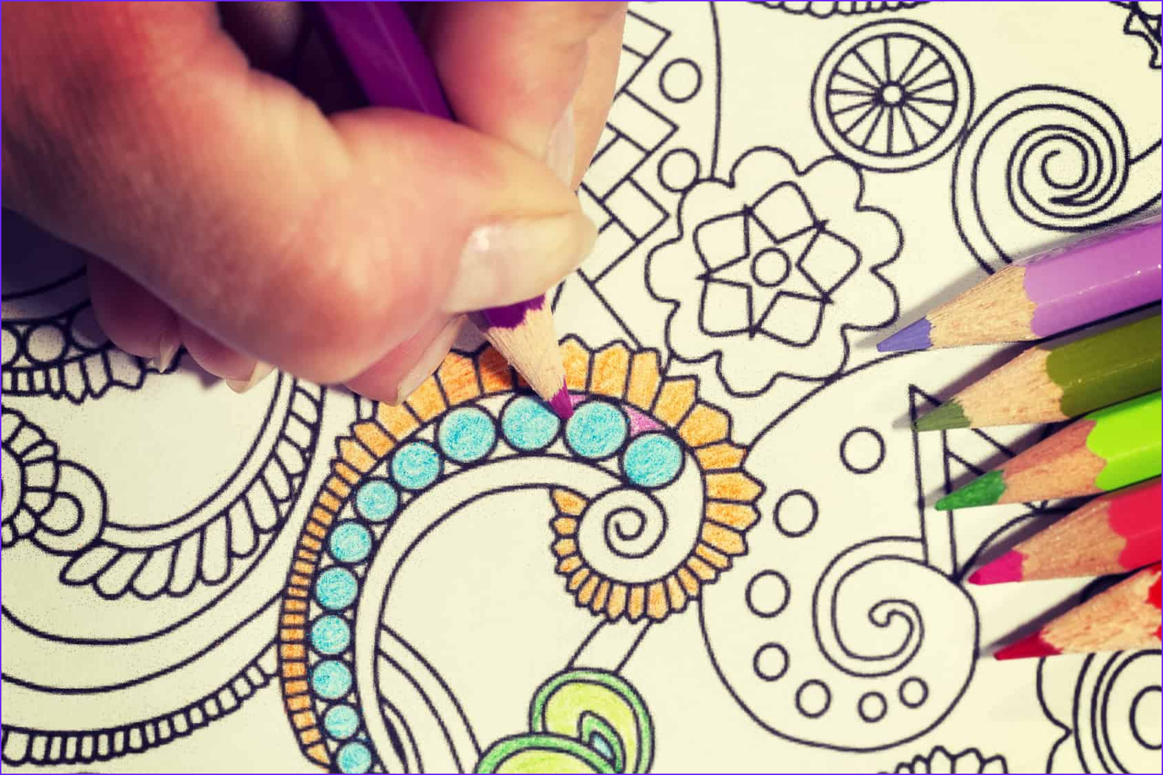 Coloring Stress Unique Images these Printable Abstract Coloring Pages Relieve Stress and