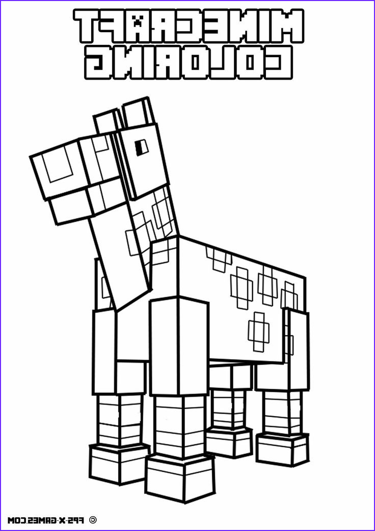 Coloring Stuff Beautiful Photos Free Printable Minecraft Coloring Pages