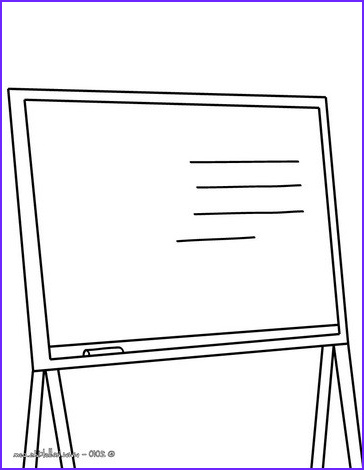 Coloring Supplies Beautiful Gallery A Blackboard Coloring Pages Hellokids