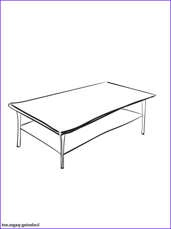 Coloring Table Beautiful Collection Coloring Page Coffee Table