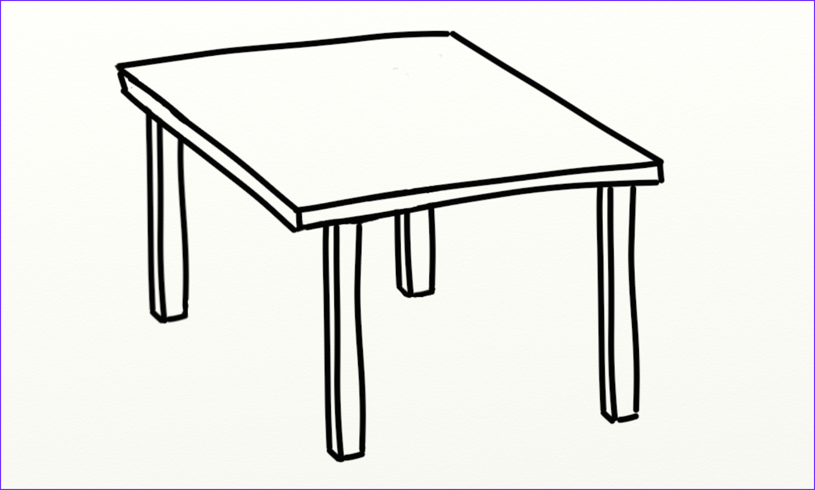 Coloring Table Beautiful Stock Table Clipart 3759 Free Clipart — Clipartwork