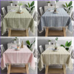 Coloring Tablecloth Awesome Image Europe Christmas Tablecloth 4 Color Hollow Embroidered