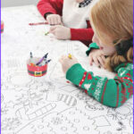 Coloring Tablecloth Awesome Images Christmas Coloring Tablecloth – Crafting Chicks Shoppe