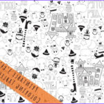 Coloring Tablecloth Best Of Images Halloween Printable Coloring Tablecloth The Crafting Chicks