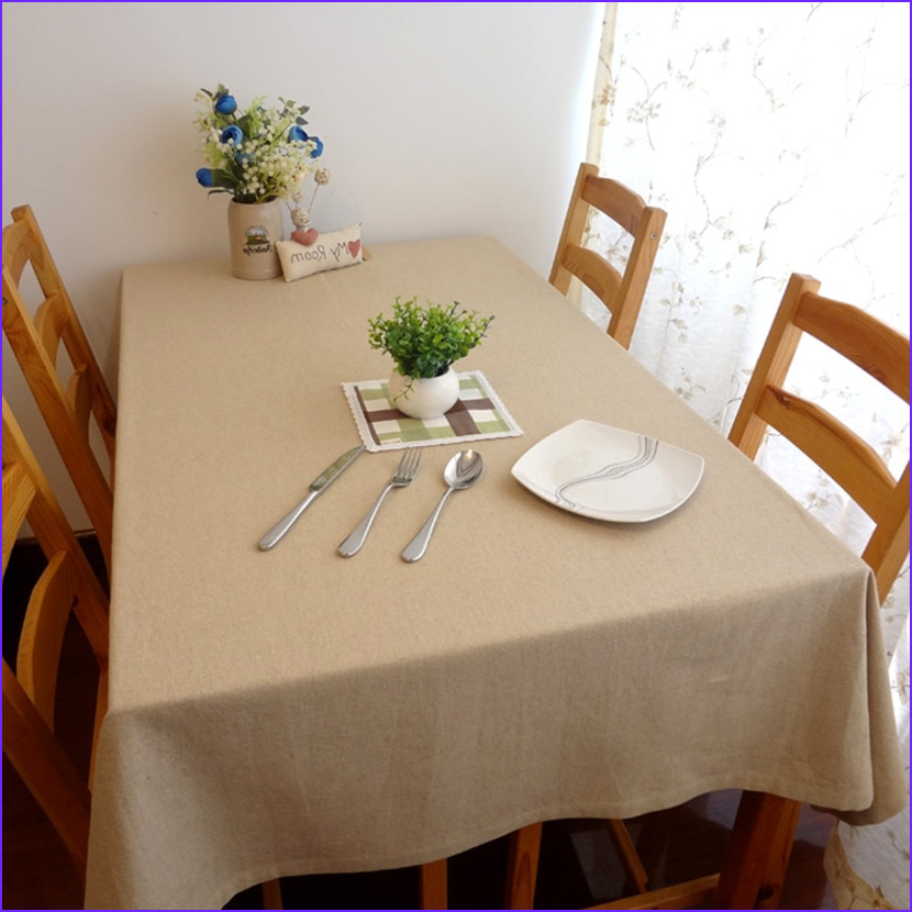 Coloring Tablecloth Cool Gallery Fashion solid Color Linen Tablecloth Tablecloths Universal