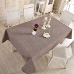 Coloring Tablecloth Inspirational Gallery Senisaihon Modern Linen Cotton Tablecloth Red 5 Solid
