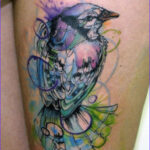 Coloring Tattoos Luxury Images Nature Water Color Tattoo Of A Bird