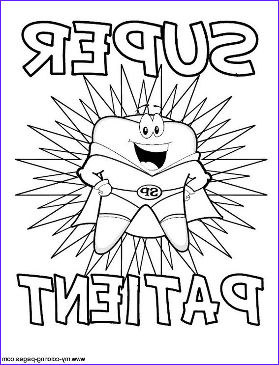 Coloring Teeth Best Of Stock Free Dental Coloring Pages for Kids tooth Printable Free