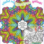 Coloring Therapy Awesome Photos Coloring Crystals Healing Art Therapy For Adults Volume