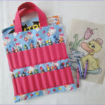 Coloring Tote Bags Beautiful Photography Hello Kitty Coloring Book And Crayon Holder By Shoppeby A