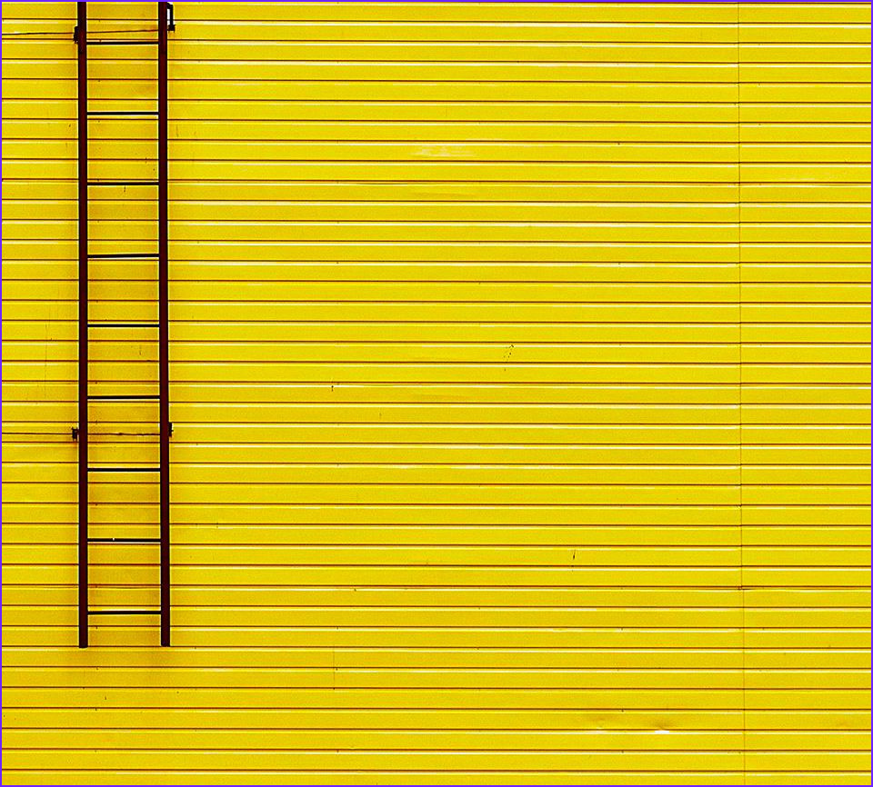 Coloring Wall Awesome Photos Yellow Wall and Ladder by Gleb Potapenko Yellow