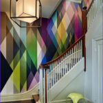 Coloring Wallpaper for Walls Best Of Image 16 Fabulous Ideas that Bring Wallpaper to the Stairway