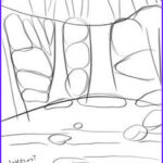 Coloring Waterfall Best Of Photos How To Draw A Waterfall Step 6 1 5 Waterfalls