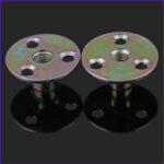 Coloring Zinc Best Of Photography M8 M10 Color Zinc Plated Round Base T Nut With Three Brad