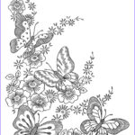 Complicated Coloring Pages For Adults Awesome Gallery Get This Difficult Butterfly Coloring Pages For Adults