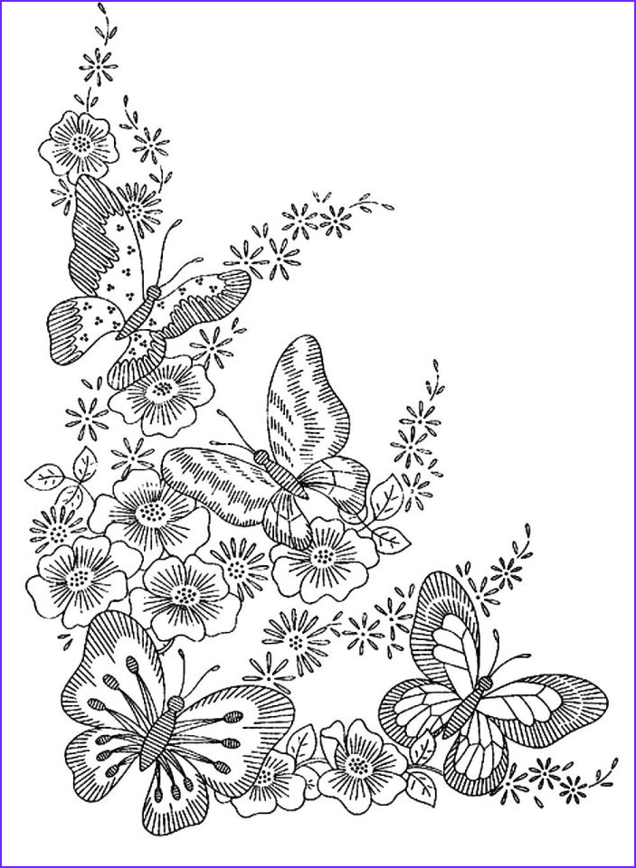 difficult butterfly coloring pages for adults fgt67