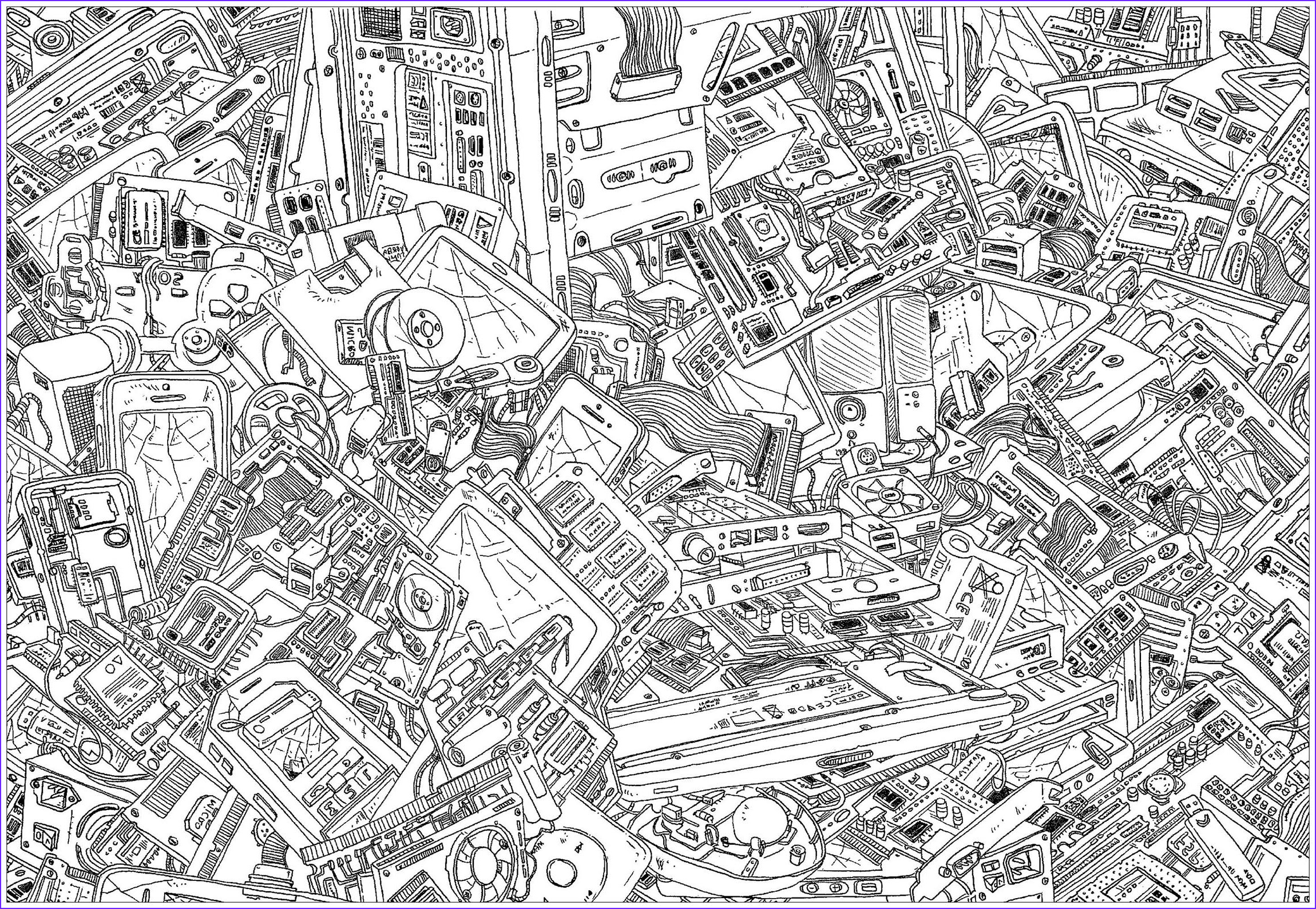 Complicated Coloring Pages for Adults Beautiful Collection Plex Coloring Pages for Teens and Adults Best
