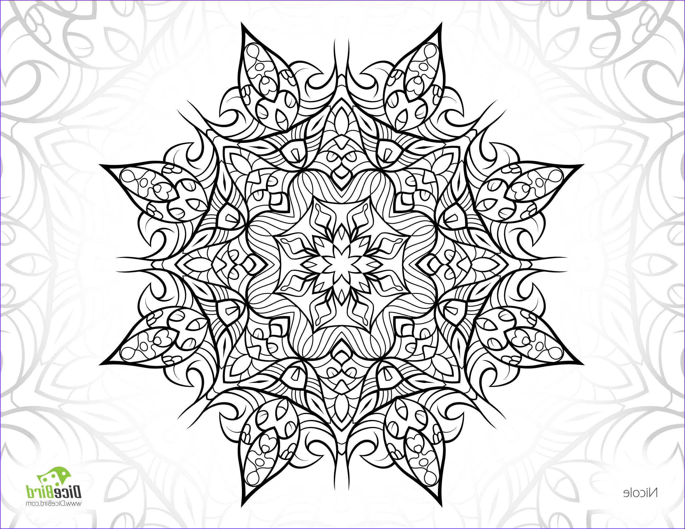 Complicated Coloring Pages for Adults Beautiful Photos Plex Adult Coloring Pages at Getdrawings