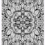 Complicated Coloring Pages For Adults Luxury Photos Plex Flower Carpet Flowers Adult Coloring Pages