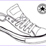 Converse Coloring Page Beautiful Stock Converse Sneaker Coloring Page Shoes
