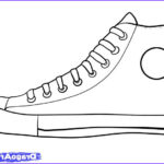 Converse Coloring Page Beautiful Stock How To Draw Converse How To Draw Chuck Taylors Step By
