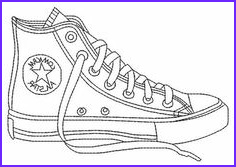 Converse Coloring Page Cool Photos How to Draw Converse How to Draw Chuck Taylors Step 6
