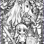 Cool Coloring Pages Cool Collection Cool Coloring Page Legend Of Zelda Color