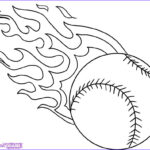 Cool Coloring Pages To Print New Gallery Baseball Ball Flames Cool Coloring Pages
