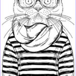 Cool Printable Coloring Pages For Adults Inspirational Photos Hipster Coloring Pages Printable 2019