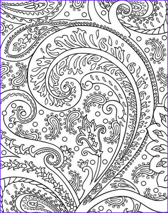 Cool Printable Coloring Pages for Adults Luxury Images Fun Abstract Coloring Page